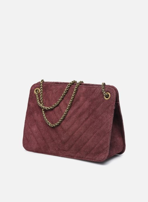 Bolsos de mano Georgia Rose Marco Leather Violeta      vista del modelo